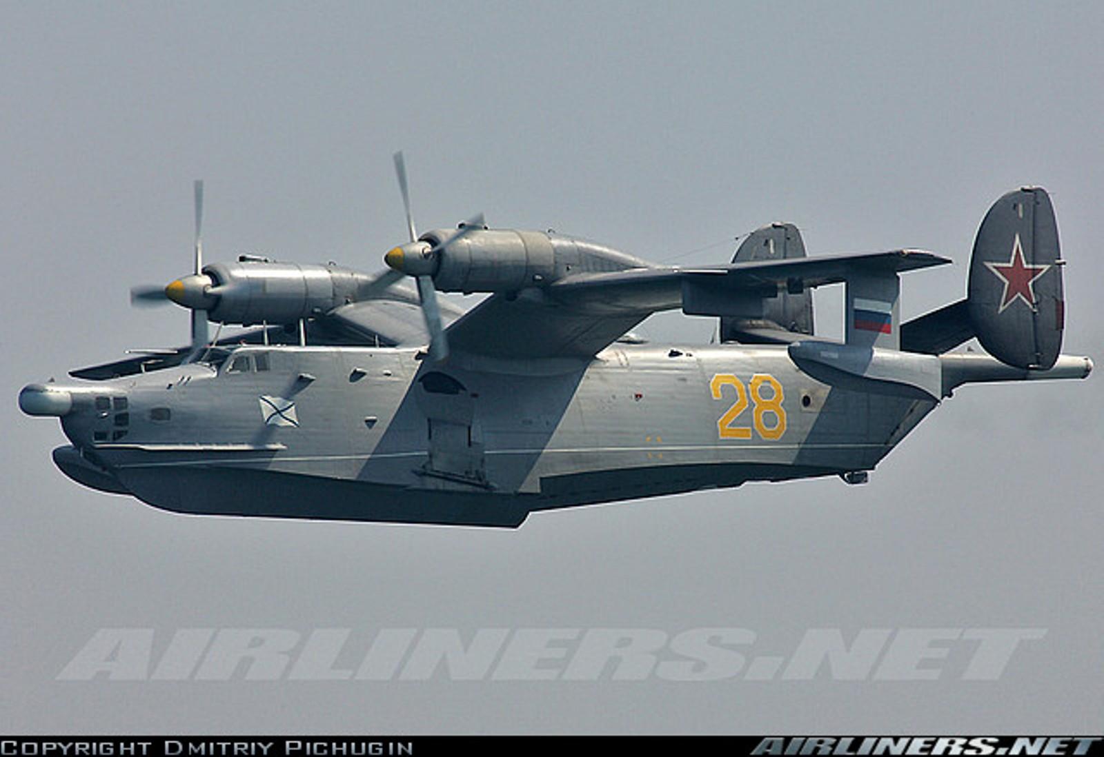 Самолёт-амфибия Георгия Михайловича Бериева Бе-12 Военная модификация