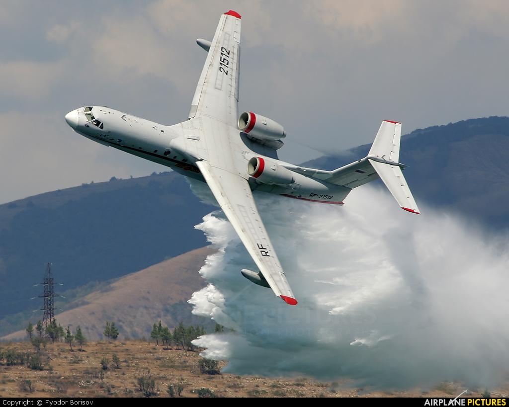 Самолёт-амфибия КБ Георгия Михайловича Бериева Бе-200 Эффектный сброс воды