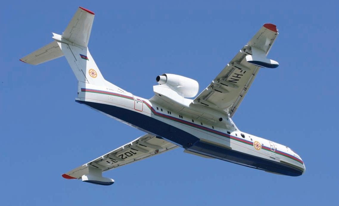 Самолёт-амфибия КБ Георгия Михайловича Бериева Бе-200
