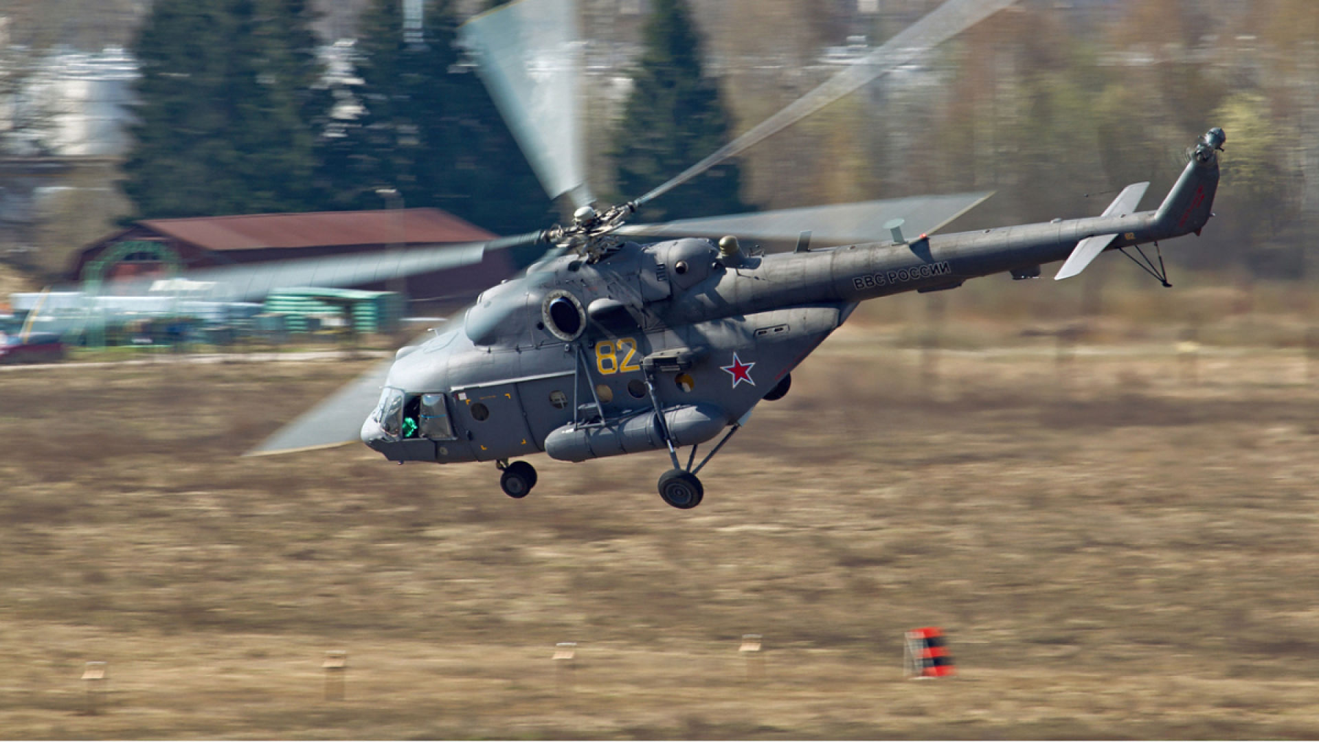 Вертолёт КБ Михаила Леонтьевича Миля Ми-17