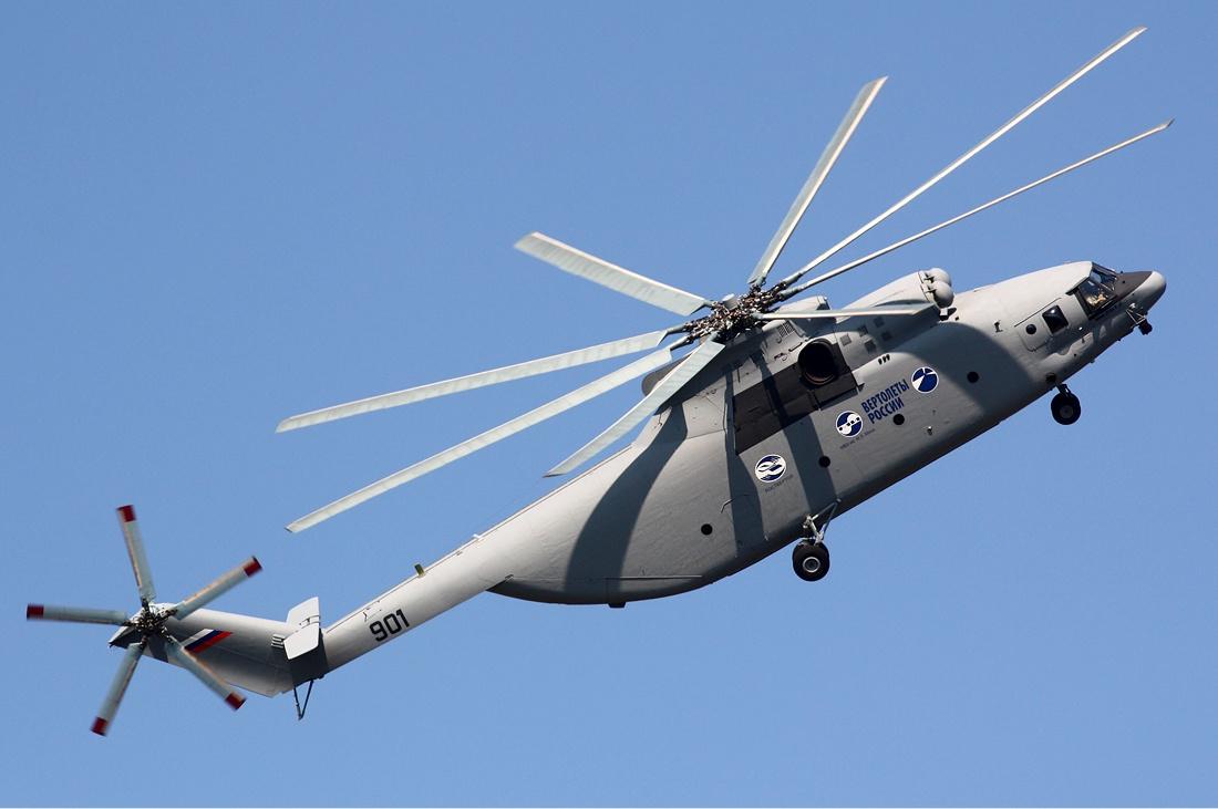 Вертолёт КБ Михаила Леонтьевича Миля Ми-26 Грузоподъёмность 20 тонн