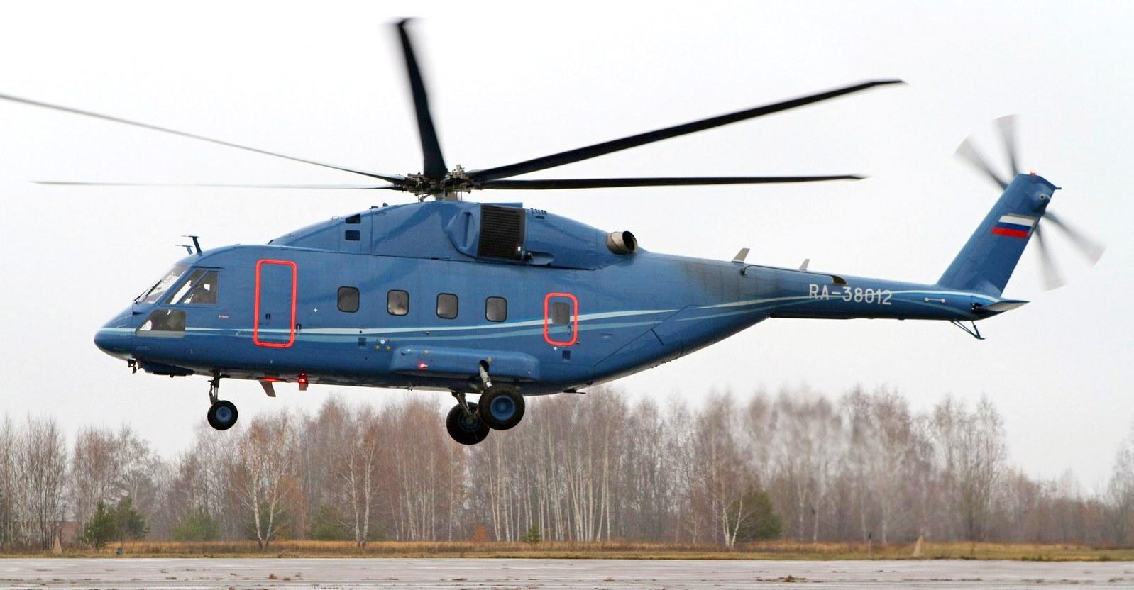 Вертолёт КБ Михаила Леонтьевича Миля Ми-38