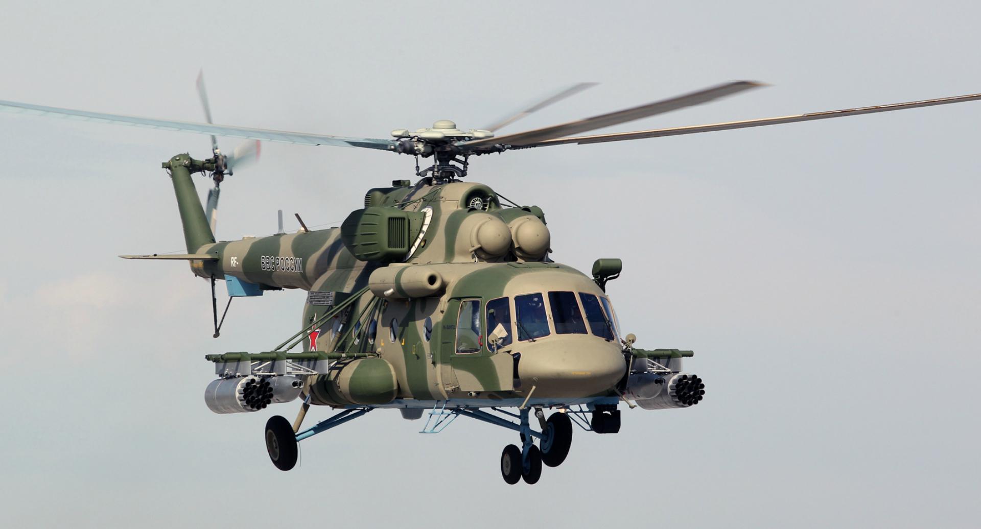 Вертолёт КБ Михаила Леонтьевича Миля Ми-8