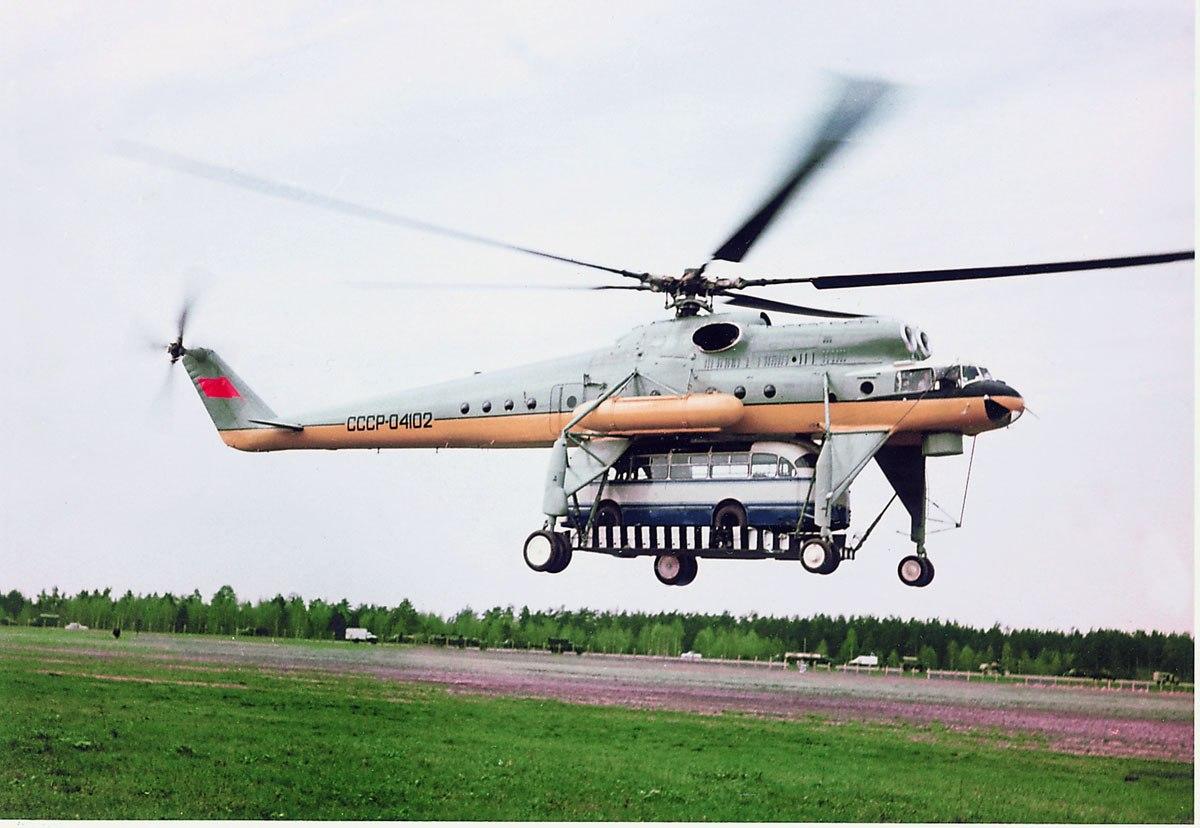 Вертолёт Михаила Леонтьевича Миля Ми-10