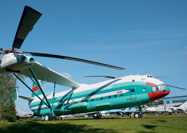 Вертолёт Михаила Леонтьевича Миля Ми-12 Грузоподъёмность вертолёта 40 тонн