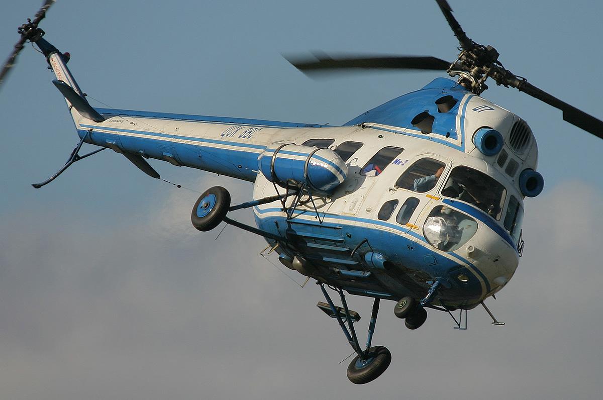 Вертолёт Михаила Леонтьевича Миля Ми-2