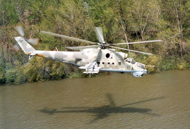 Вертолёт Михаила Леонтьевича Миля Ми-24