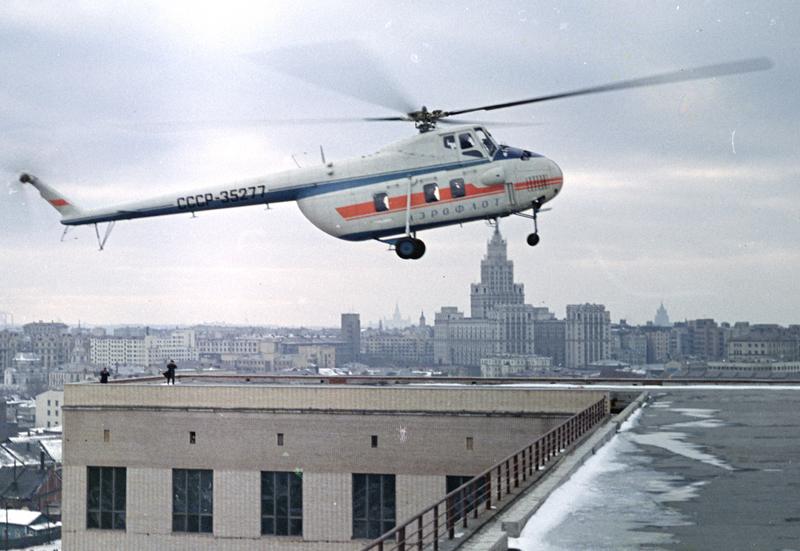 Вертолёт Михаила Леонтьевича Миля Ми-4