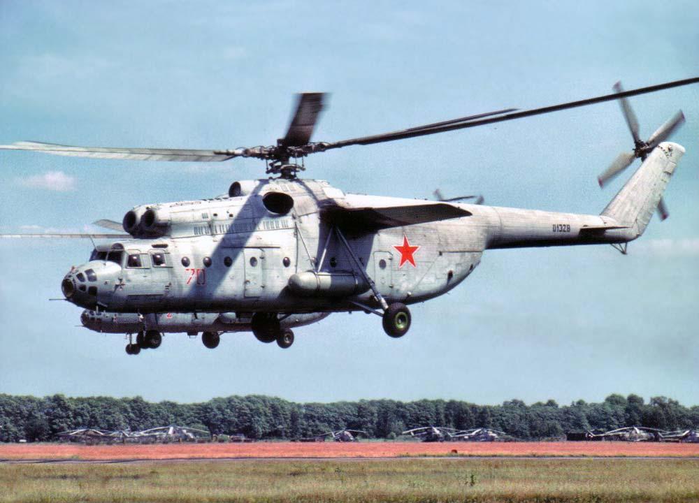 Вертолёт Михаила Леонтьевича Миля Ми-6