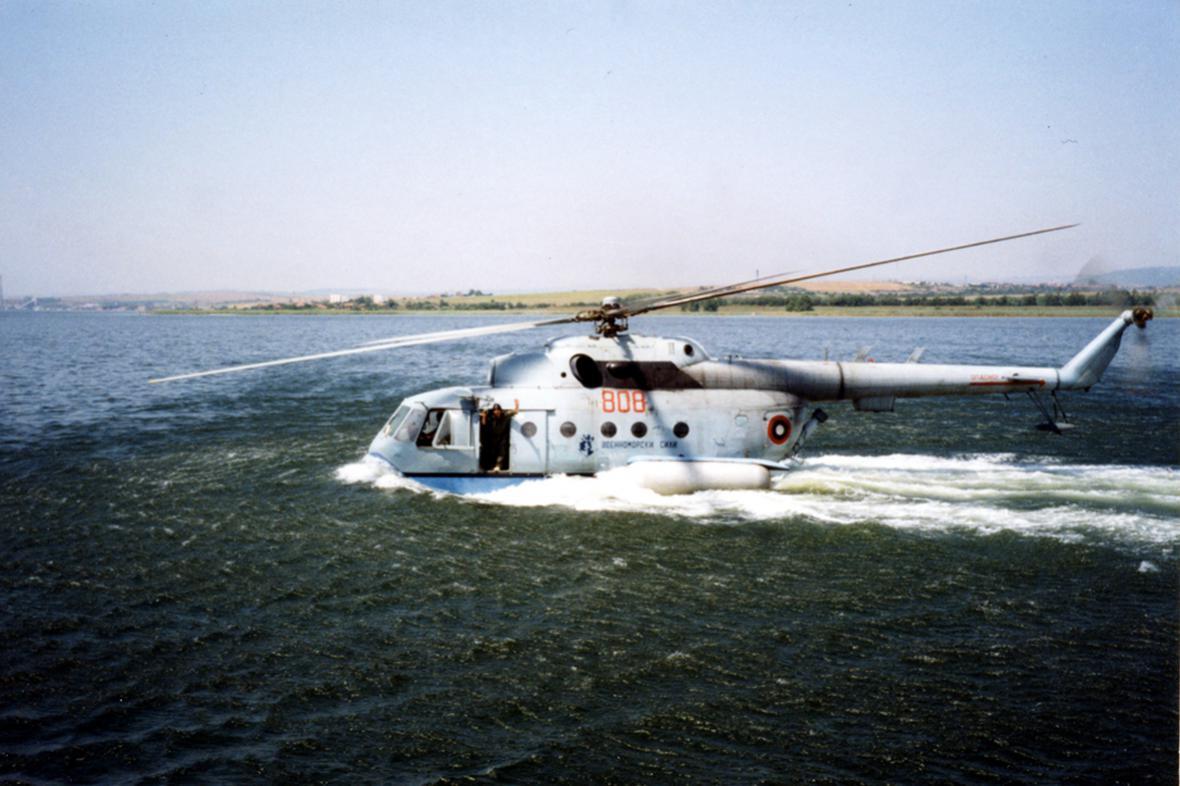 Вертолёт-амфибия КБ Михаила Леонтьевича Миля Ми-14