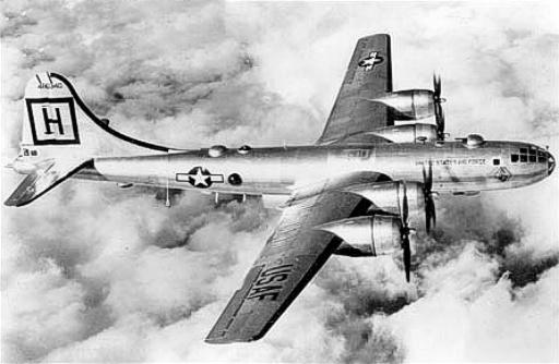 Американский бомбардировщик Летающая крепость на войне в Корее