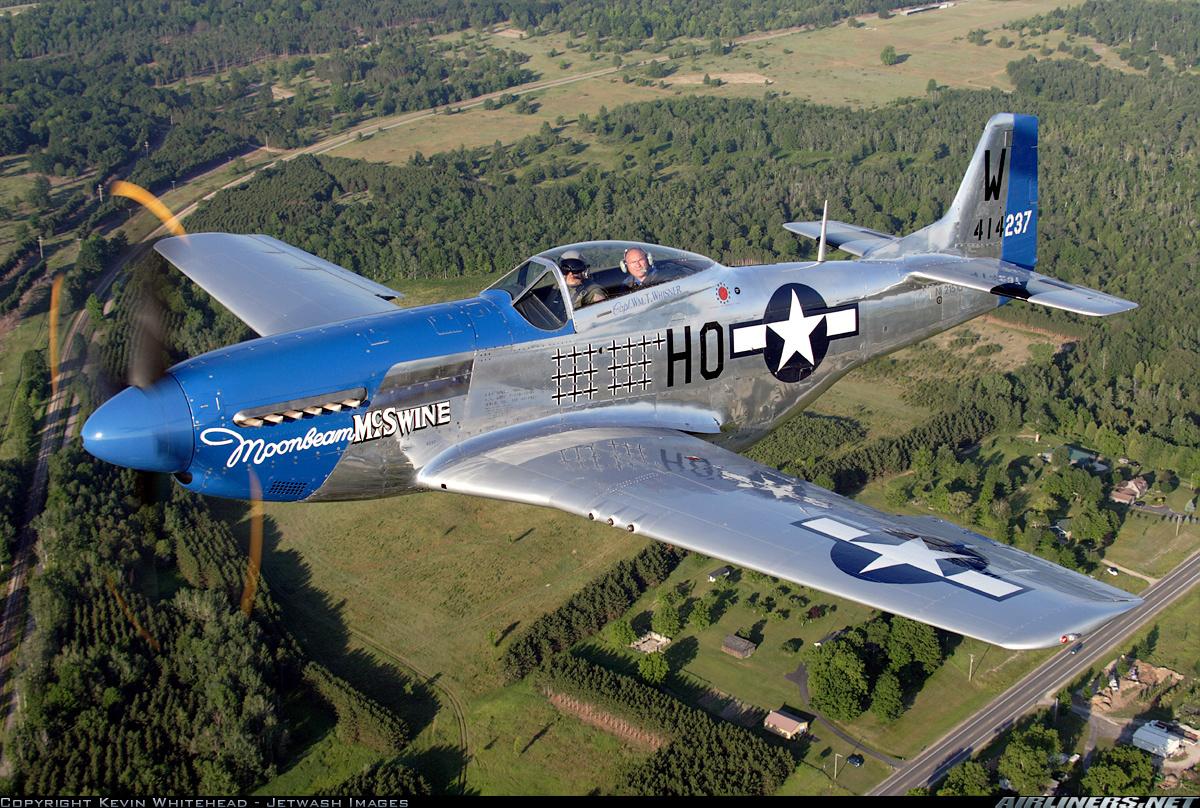 Американский истребитель Второй Мировой войны Мустанг Иван Никитович Кожедуб по приказу вынужден был сбить 2 таких истребителя