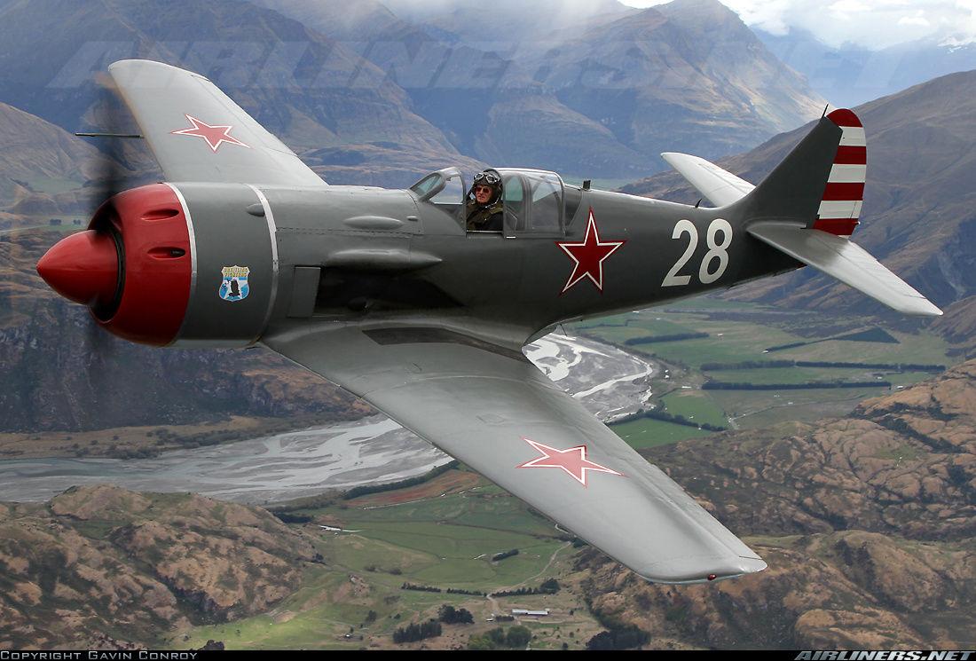 Истребитель Ла-7 На таком воевал Иван Никитович Кожедуб Данный самолёт восстановлен до лётного состояния в США и летает в США