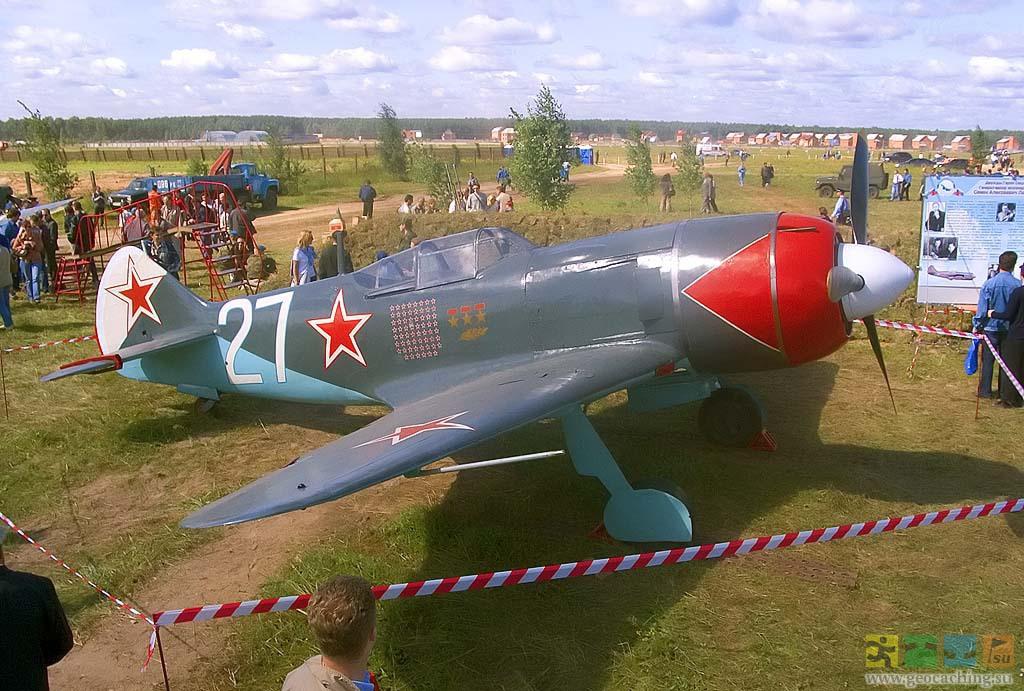 Истребитель Ла-7 на котором воевал Иван Никитович Кожедуб
