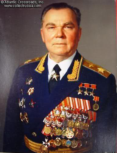 Иван Никитович Кожедуб в звании Маршала авиации