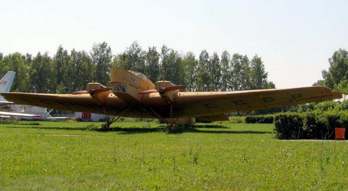 Бомбардировщик ТБ-1 в конструировании которого принимал участие Семён Алексеевич Лавочкин Данный экземпляр оснащён лыжным шасси