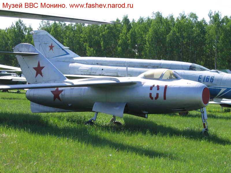 Истребитель Семёна Алексеевича Лавочкина Ла-15 в музее в Монино