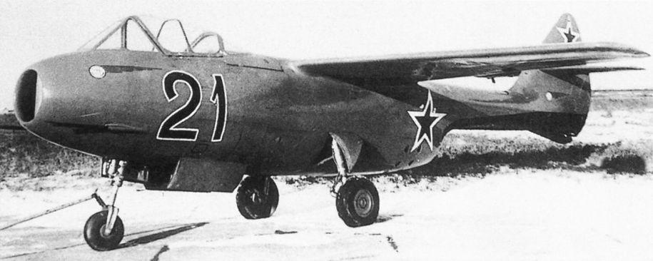 Истребитель Семёна Алексеевича Лавочкина Ла-150