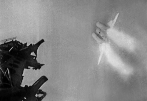 Межконтинентальная крылатая ракета Семёна Алексеевича Лавочкина Буря на старте