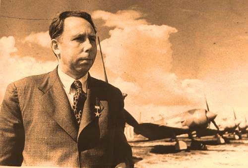 Семён Алексеевич Лавочкин прославленный советский конструктор истребителей Ла-5
