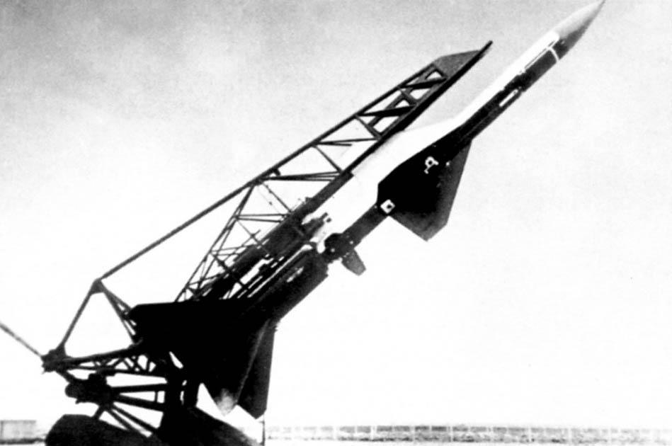 Зенитная ракета Семёна Алексеевича Лавочкина для системы Беркут позже переименованная в С-25