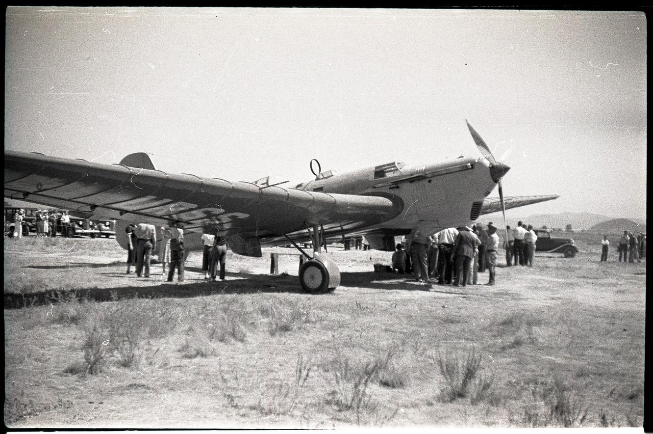 АНТ-25 в разработке которого главную роль принимал Павел Осипович Сухой
