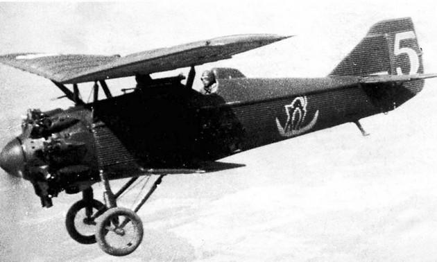 АНТ-5 в разработке которого принимал участие Павел Осипович Сухой