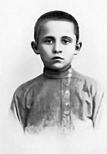 Авиаконструктор Павел Осипович Сухой в детстве