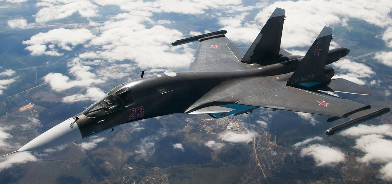 Самолёт КБ Павла Осиповича Сухого Су-34