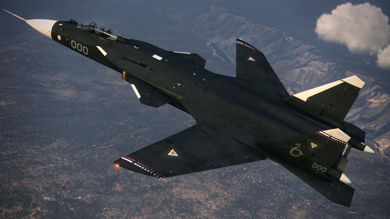 Самолёт КБ Павла Осиповича Сухого Су-47 с обратной стреловидностью крыла