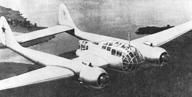 Самолёт Павла Осиповича Сухого Су-12