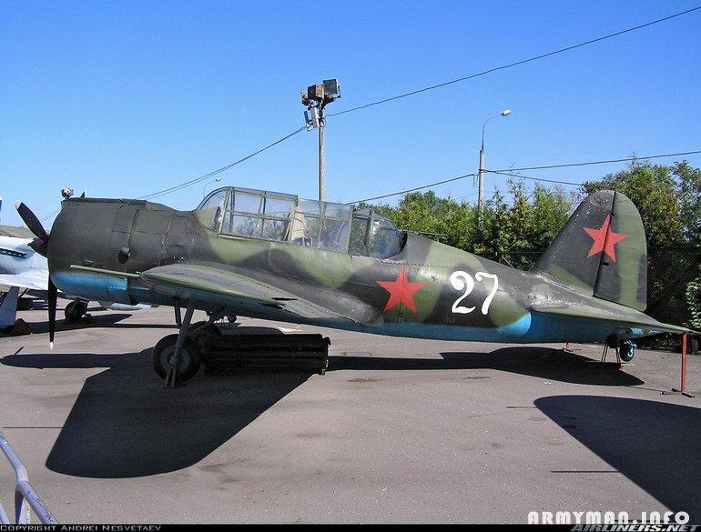 Самолёт Павла Осиповича Сухого Су-2