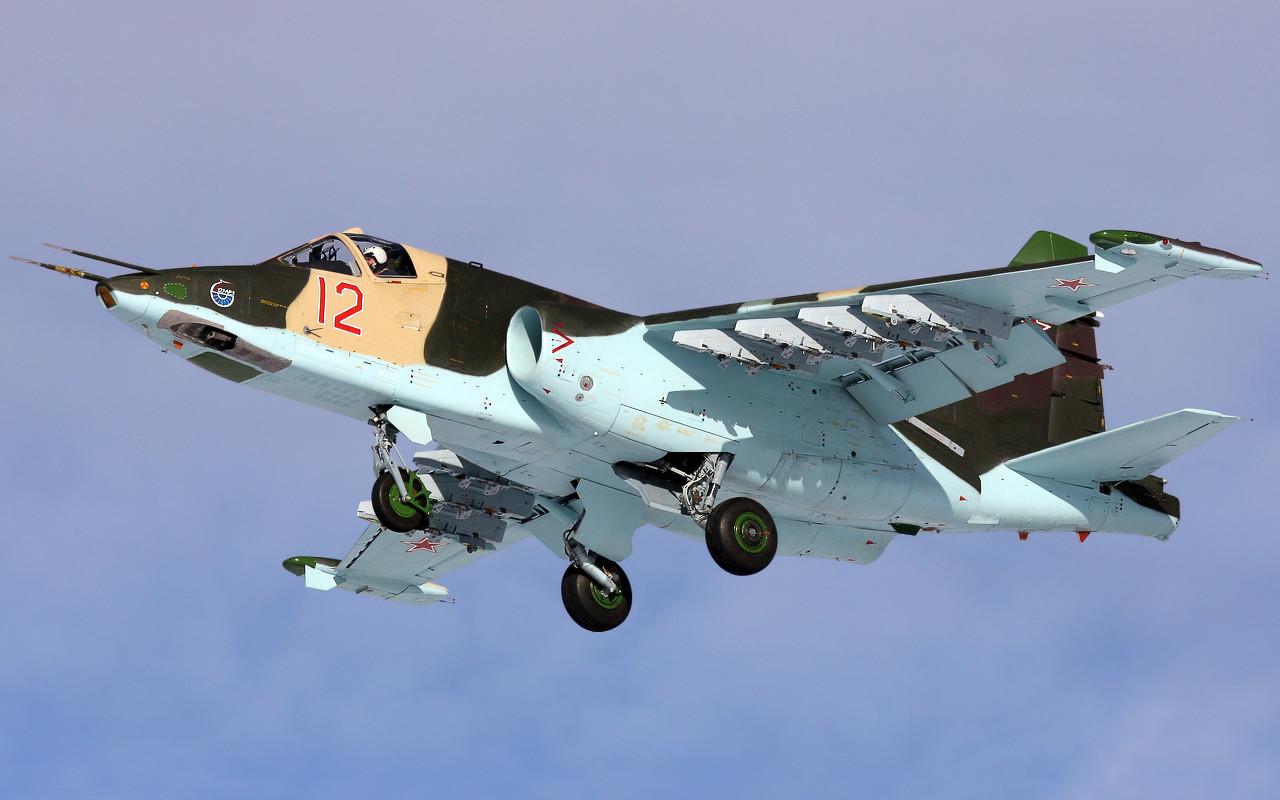 Самолёт Павла Осиповича Сухого Су-25 Штурмовик