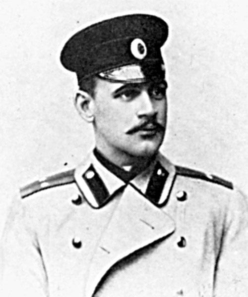 Глеб Евгеньевич Котельников на службк в армии