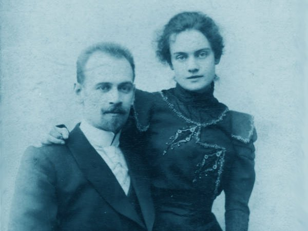 Глеб Евгеньевич Котельников с женой Юлией Васильевной