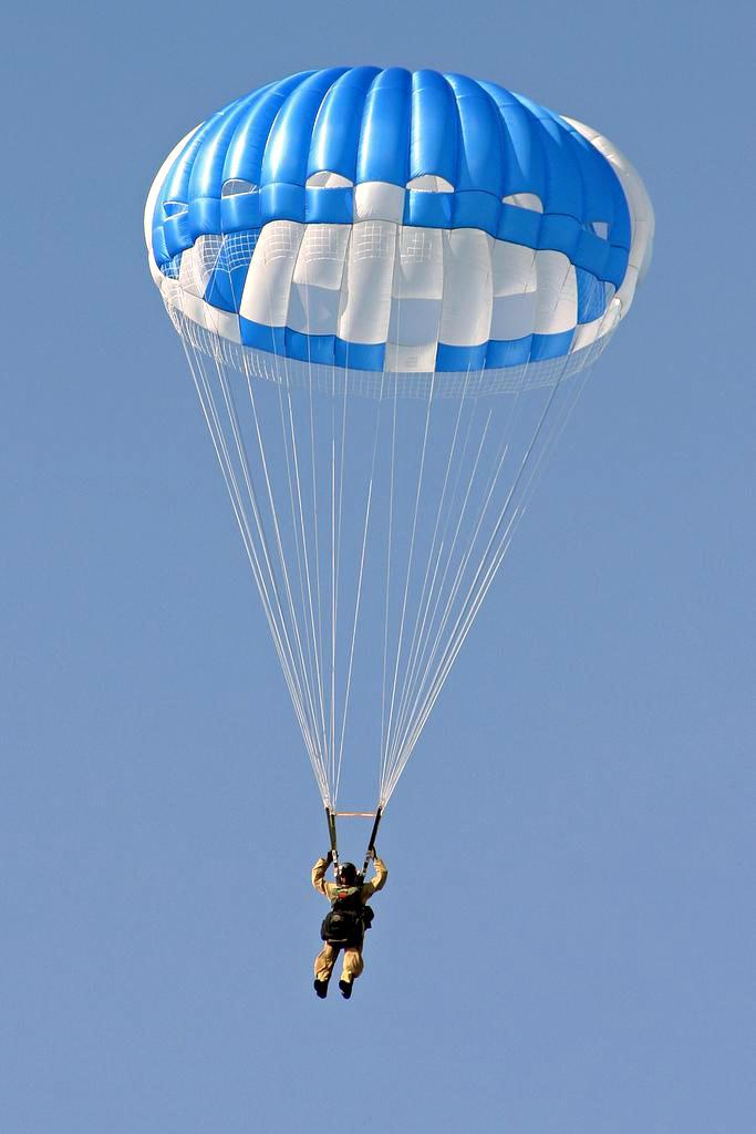Разновидность спортивного парашюта
