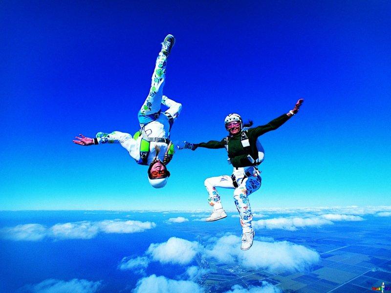 Вид парашютного спорта Фрифлай