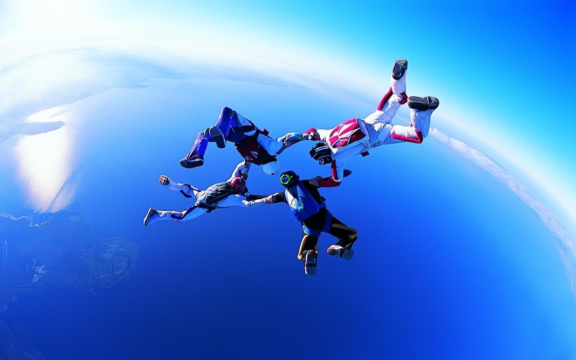 Вид парашютного спорта Групповая акробатика