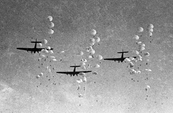 Высадка массового десанта в 1930-х годах