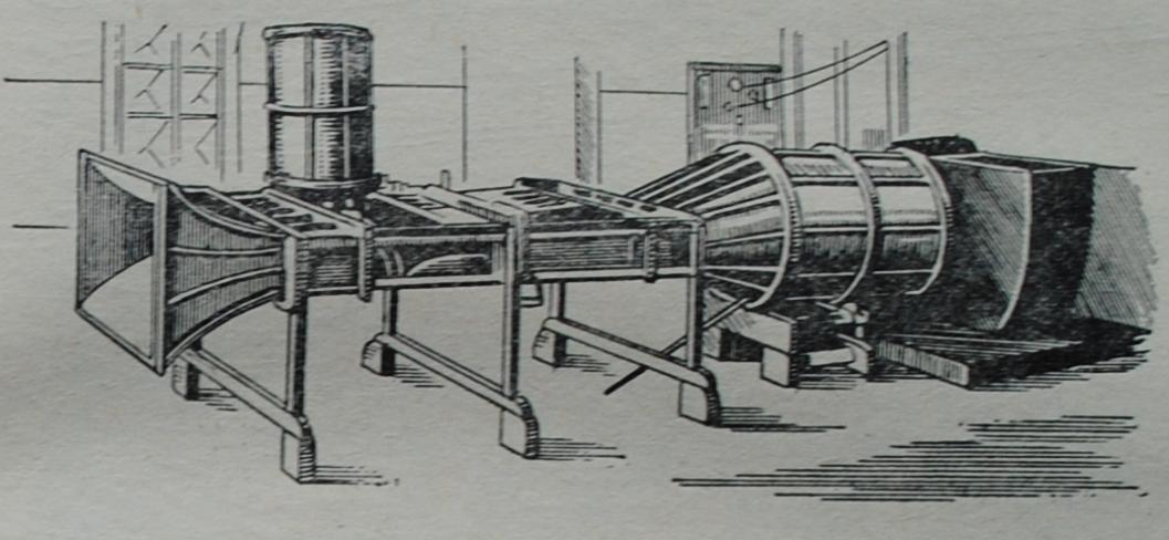 Аэродинамическая труба времён Николая Егоровича Жуковского