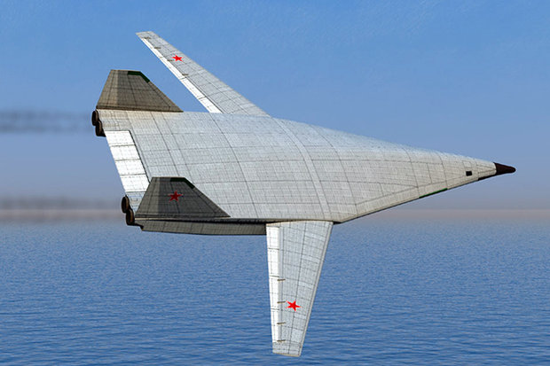 Проект самолёта Наума Семёновича Чернякова работавшего в КБ Павла Осиповича Сухого Сверхзвуковой бомбардировщик Т-60С