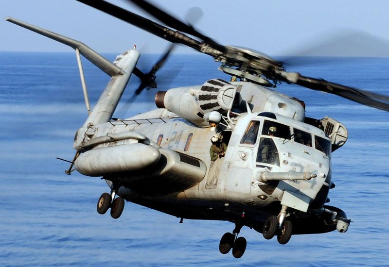 Американский транспортный вертолёт Sikorsky СН-53