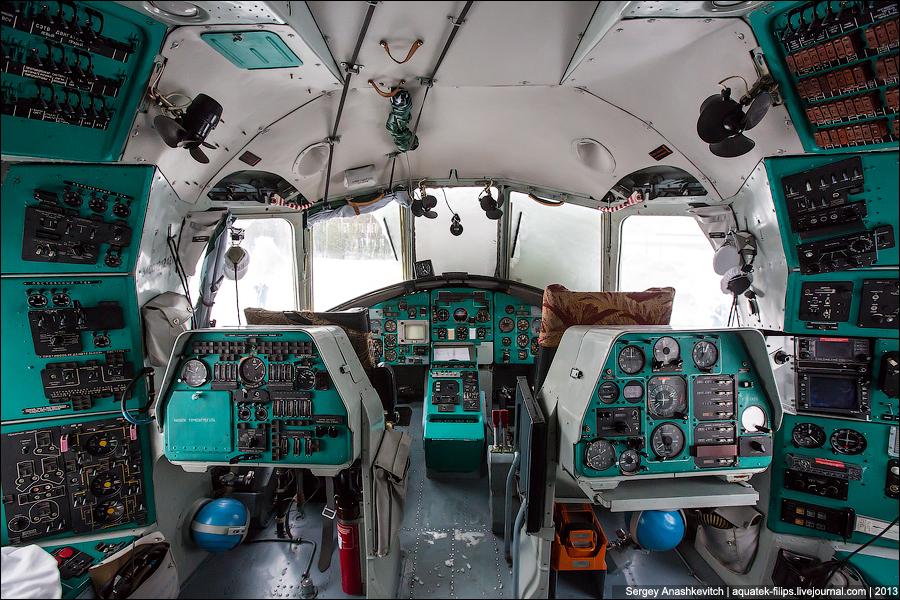 Кабина пилотов самого большого в мире СЕРИЙНОГО транспортного вертолёта Mи-26 с великолепным обзором и отличной эргономикой
