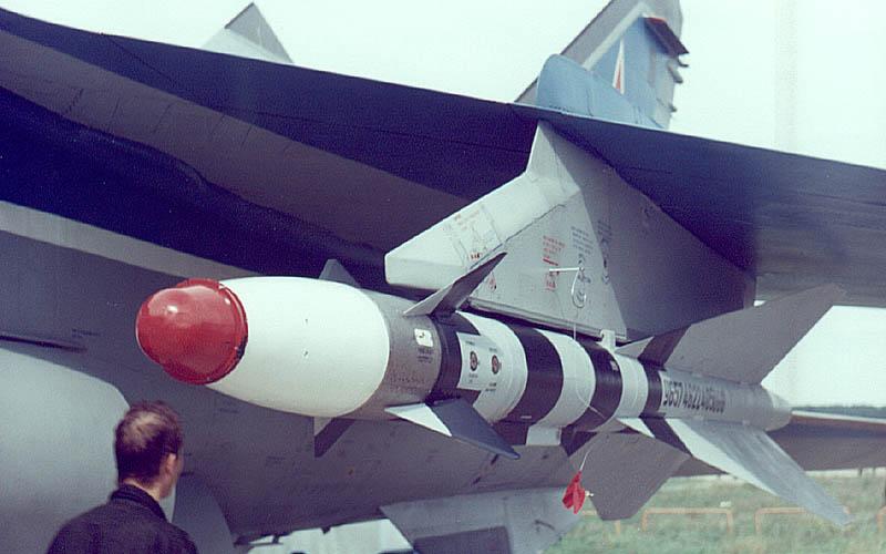 Ракеты истребителя-перехватчика МиГ-25 Р-40 в количестве 4-х штук