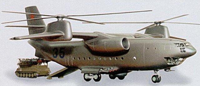 Винтокрыл КБ Н.И.Камова Ка-35