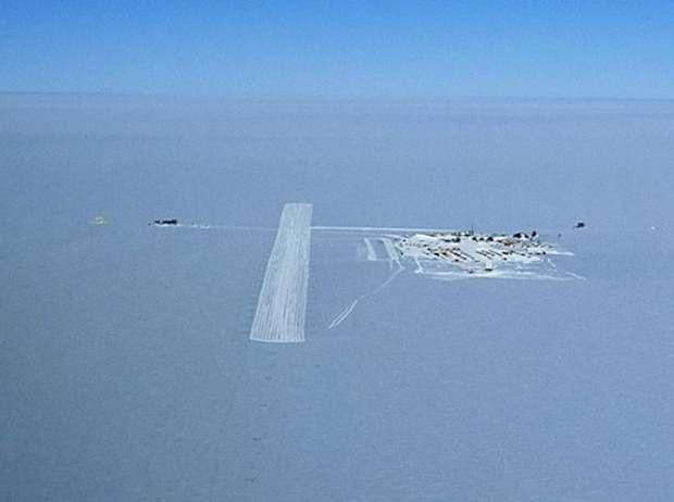 Аэропорт Поля Пегаса в Антарктиде