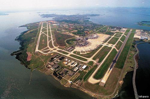 Аэропорт Рио де Жанейро (Rio de Janeiro) Галеан Общий план