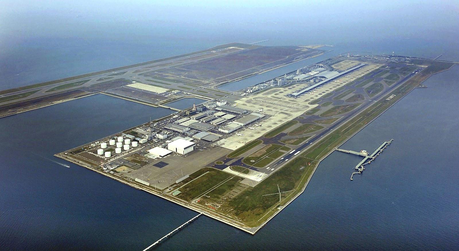 Аэропорт города Осака-Кансай в Японии