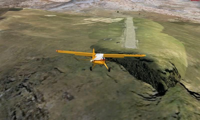 Посадка в аэропорту Матекане (Matekane) в Лесото