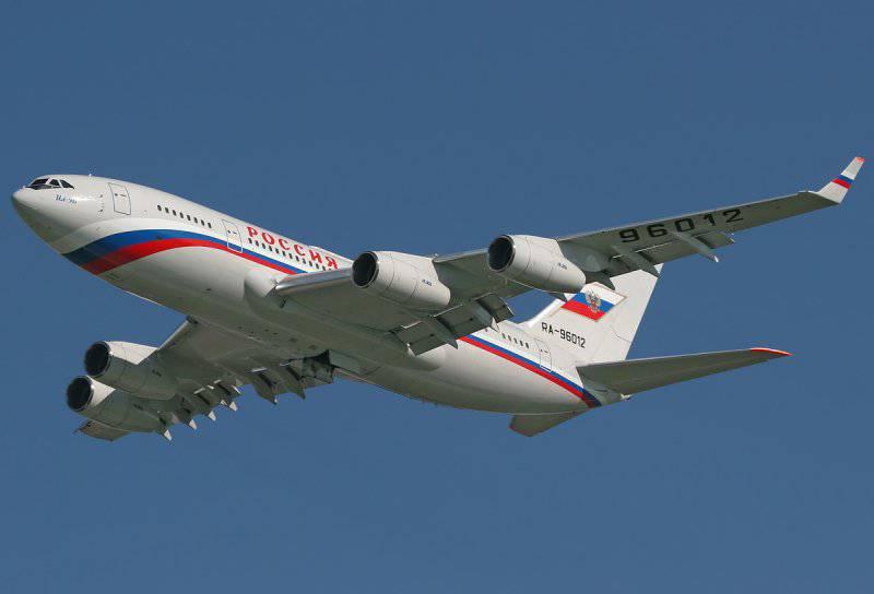 Ил-96-300М правительства России